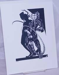 image of [Alien] [8.5x11 inch matte b&w print]