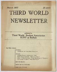 image of Third World Newsletter. March 1977