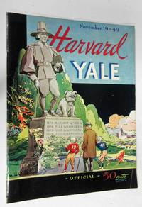 image of HARVARD - YALE OFFICIAL PROGRAM (NOVEMBER 1949)