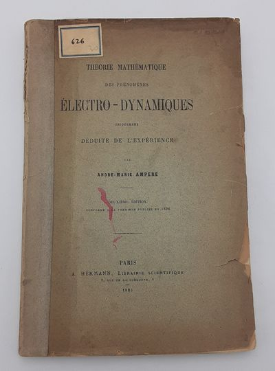 Paris.: Hermann., 1883. 2nd edition.. Publisher's printed wraps.. Good plus, wrappers browned and ch...