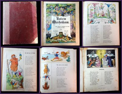 Germany: Frankfurt am Main, Literary Institution of Rutten and Loeing, 1877. A book of fairy tales a...