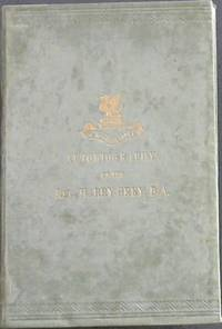 image of The Autobiography of the Rev Harry Grey, BA with a short account of his last illness and death - and An Introduction