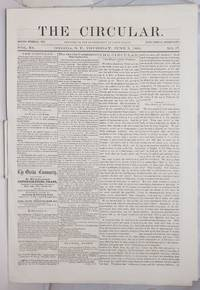 image of The Circular: Devoted to the Sovereignty of Jesus Christ; Vol. 11, No. 17, Thursday June 5, 1862