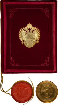 Emperor Franz Joseph Grant of Arms and Nobility Signed, Austro-Hungarian Empire.