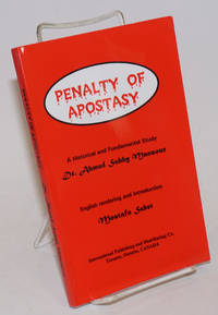 image of Penalty of Apostasy: a Historical and Fundamental Study