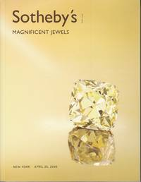 image of Magnificent Jewels, Sotheby's Catalog, New York, April 25, 2006