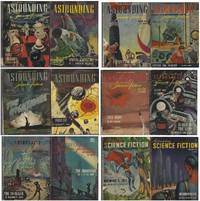 Astounding Science-Fiction 1946 January, February, March, April, May, June, July, August, September, October, November, December: Loophole / Alexander the Bait / Vintage Season / Child of the Gods / Memorial / Rescue Party / Hobbies / Evidence / Others