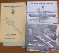 The Marine Board of Launceston, Tasmania : 10 annual reports, 1955-58 & 1960-65.