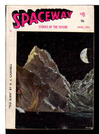 SPACEWAY SCIENCE FICTION: Stories of the Future,  April 1954.