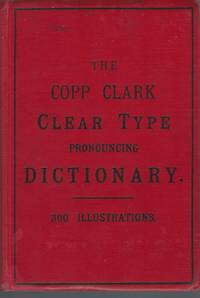 New Illustrated Clear Type Dictionary Of The English Language : With An  Appendix Of Abbreviations And Foreign Words And Phrases : Upwards Of Three  Hundred Engravings. (1930s)