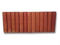 The Works of Francis Parkman, New Library Edition, in Thirteen [13] Volumes: Pioneers of France in the New World; The Jesuits in North America; La Salle and the Discovery of the Great West; The Old Regime in Canada; Count Frontenac and New France under Louis XIV; A Half-Century of Conflict (2 Vols.); Montcalm and Wolfe (2 Vols.); The Conspiracy of Pontiac and the Indian War after the Conquest of Canada (2 Vols.); The Oregon Trail; Life of Parkman