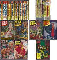 """OTHER WORLDS SCIENCE STORIES"" COMPLETE 43 VOLUME RUN: November 1949 to May 1957 : 1949, 1950, 1951, 1952, 1953, 1955, 1956, 1957"