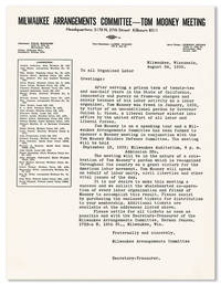 Typed Letter, August 24, 1939
