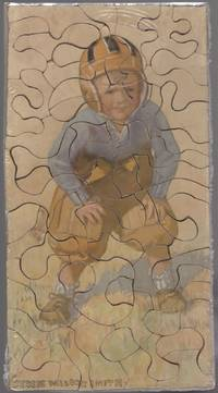 image of Jigsaw Puzzle of a Little Boy Football Player