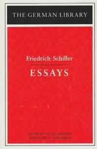 Friedrich Schiller: Essays