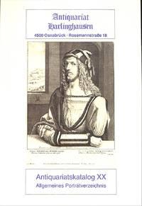 Catalogue 20/1981 : Allgemeines Portratverzeichnis