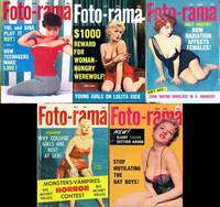 Foto-rama [The Photo Magazine of Headline Features] (5 vintage pinup digest magazines, 1957-60)