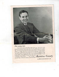 Raintree County ( RARE Publisher's Promotional  Pamphlet )