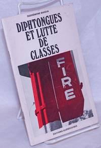 image of Diphtongues et lutte de classes [Introduction by] Leandre Bergeron
