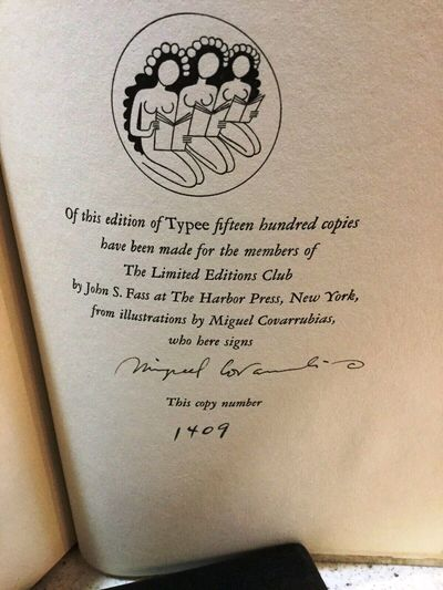 New York: Limited Editions Club, 1935. hardcover. Bookplate of the Worthy Paper Company, which suppl...