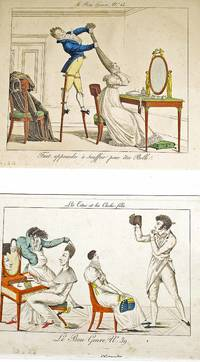 From Rudolph Nureyev's collection Engravings from  Le Bon Genre: Hairstyles &  Tightrope walker