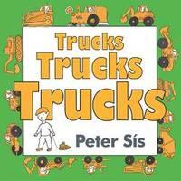 image of Trucks Trucks Trucks Board Book