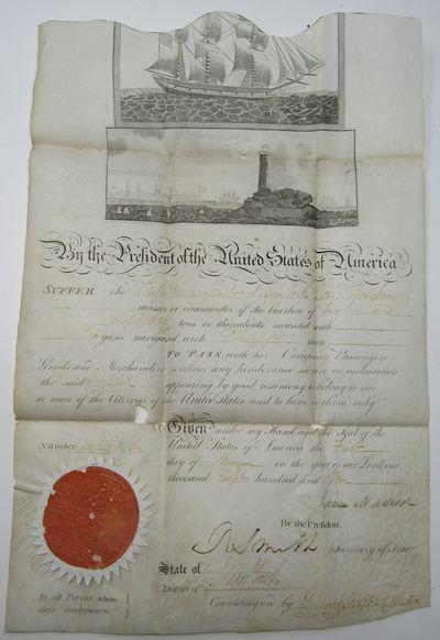 Nautical Passport for a New York Ship