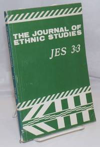 image of The Journal of ethnic studies; volume 3, number 3, Fall 1975