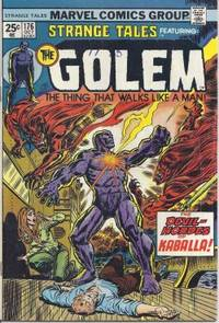 STRANGE TALES (featuring The Golem): Oct #176