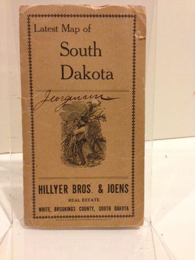 Sioux Falls, S.D.: Brown & Saenger, Printers, 1915. Folding map, 32 x 47 cm., on a 44 x 55 cm. sheet...