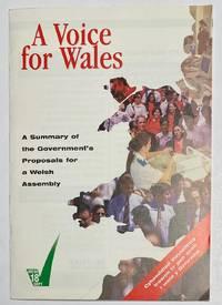 image of A voice for Wales: the Government's proposals for a Welsh Assembly / Llais dros Gymru : cynigion y llywodreath ar gyfer cynulliad Cymreig