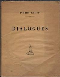Dialogues ou Petites Scènes amoureuses