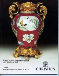 Christie´s: Chinese Export Porcelain, Oct. 1990 - Auction Catalogue