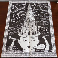 22nd Annual New Year's Day Marathon Reading 1996 Poster / Flyer