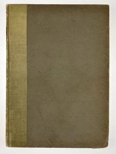 Boston: Printed for Members only of the Bibliophile Society, 1912. First edition. First edition. Ori...
