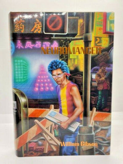 FIRST EDITION SIGNED  NEUROMANCER...