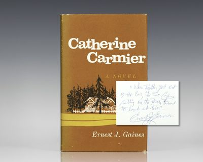 New York: Atheneum, 1964. First edition of Gaines' first book. Octavo, original half cloth. Signed b...