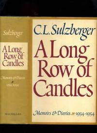 image of A Long Row of Candles; Memoirs and Diaries 1934-1954