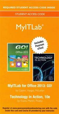 Go Office 2013 Volume 1 Technology In Action 10th border=