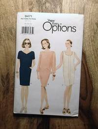 image of Vogue Sewing Pattern: 9471: VOGUE EASY OPTIONS: Misses' Pullover Dress: Size: 18-20-22