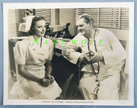 "image of 8""x10"" Original Studio Publicity Photograph, Lionel Barrymore and Laraine Day  in Calling Dr. Kildare, 1939"