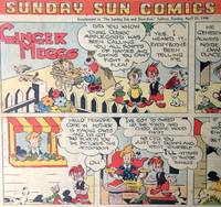 Sunday Sun Comics. Sunbeams Supplement to 'The Sunday Sun and Guardian' April 21 1946 by  May and others  GIBBS - First Edition - 1946 - from Rare Illustrated Books (SKU: 951)