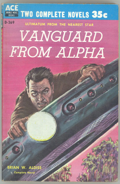 New York: Ace Books, 1959. Small octavo, pictorial wrappers. First edition. Ace Double D369. Bound w...