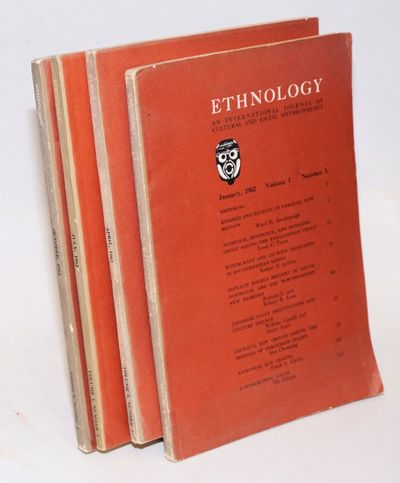 Pittsburgh: University of Pittsburgh Press, 1962. 4 volumes, various paginations, illustrations, map...