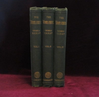 London: Macmillan, 1887. First Edition. Hard Cover. Very Good-. Octavo. THREE VOLUMES. Complete Set....