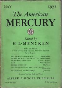 image of The American Mercury: Vol. XXIII No. 89 May 1931