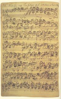 Die achtzehn grossen Orgelchoräle BWV 651-668 und Canonische Veränderungen über