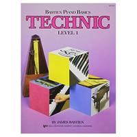 WP216 - Bastien Piano Basics - Technic Level 1 (Level 1/Bastien Piano Basics Wp216) (Paperback)