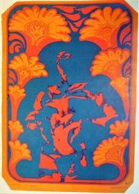 Psychedelic Poster 1967 - 'Neon Rose'