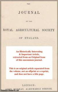 Practical Hints on Vegetable Farming. A rare original article from the Journal of The Royal...